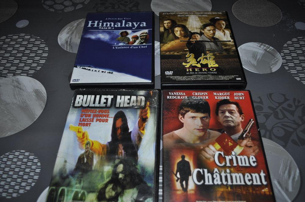 Lot de DVD avec entre autre  Jet Li  5 Perreuil (71)