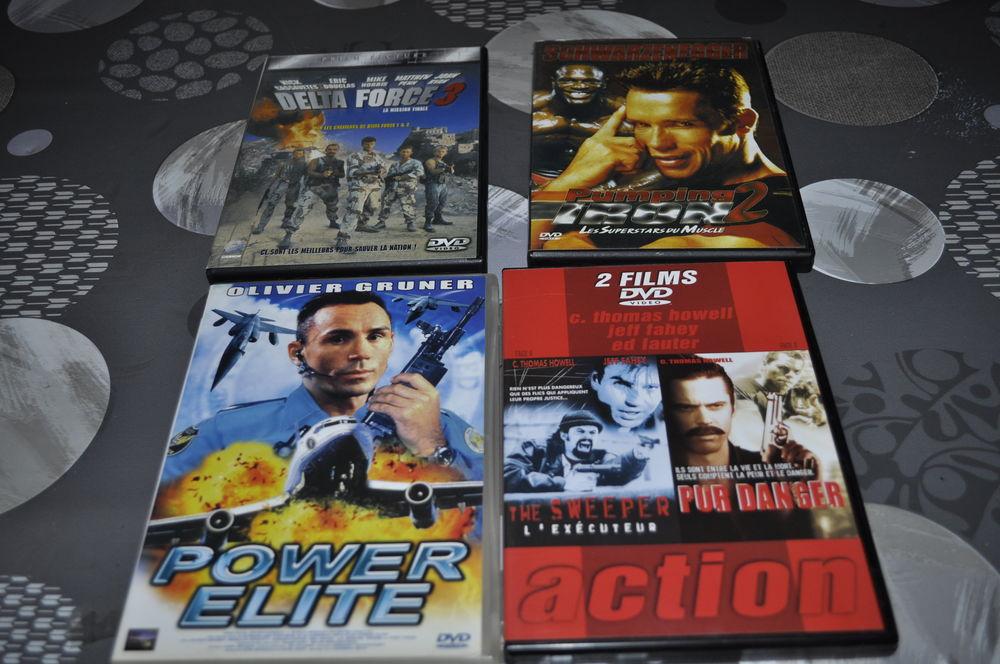 DVD avec entre autre Arnold Schwarzenegge 5 Perreuil (71)