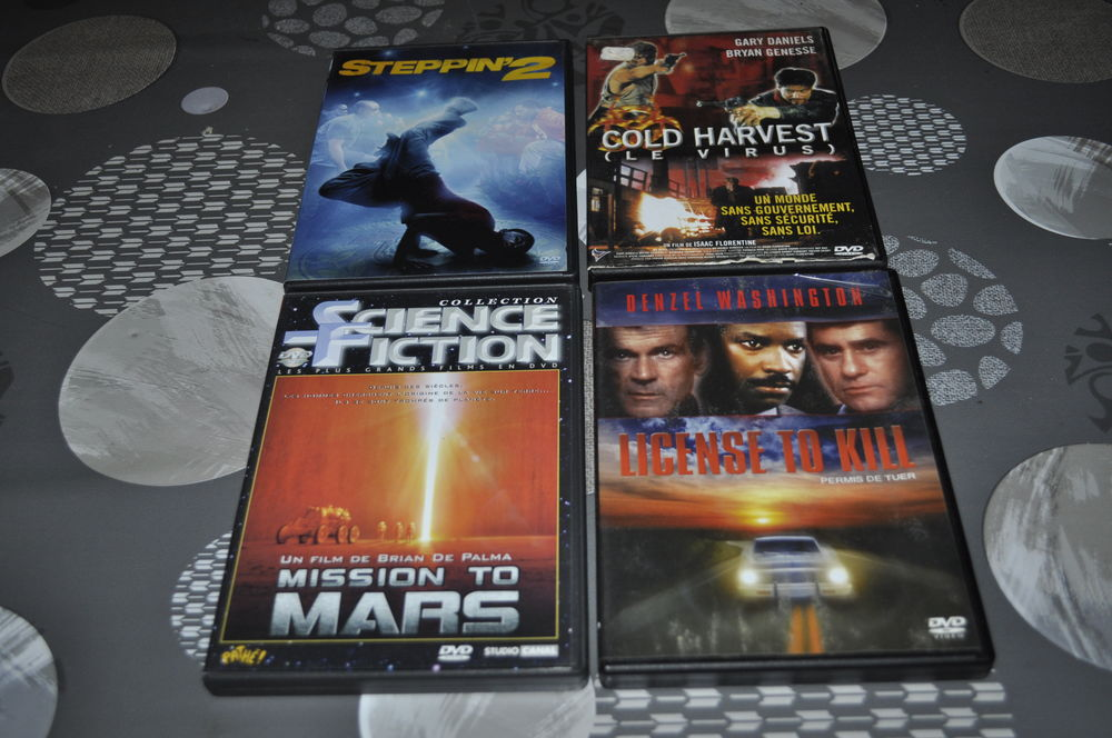 Lot de DVD avec entre autre  Denzel Washington  5 Perreuil (71)