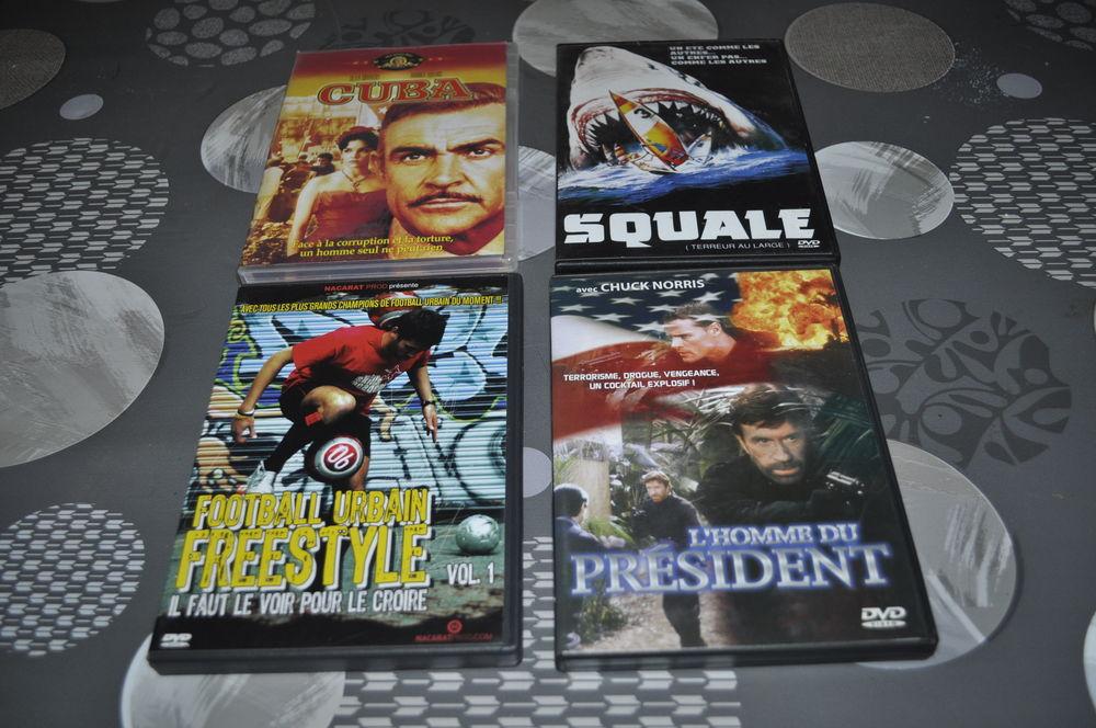 Lot de DVD avec entre autre  Chuck Norris  5 Perreuil (71)