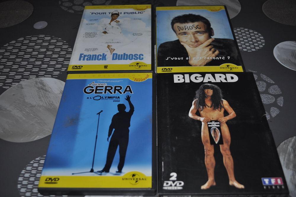 Lot de DVD avec entre autre  Jean Marie Bigard   5 Perreuil (71)