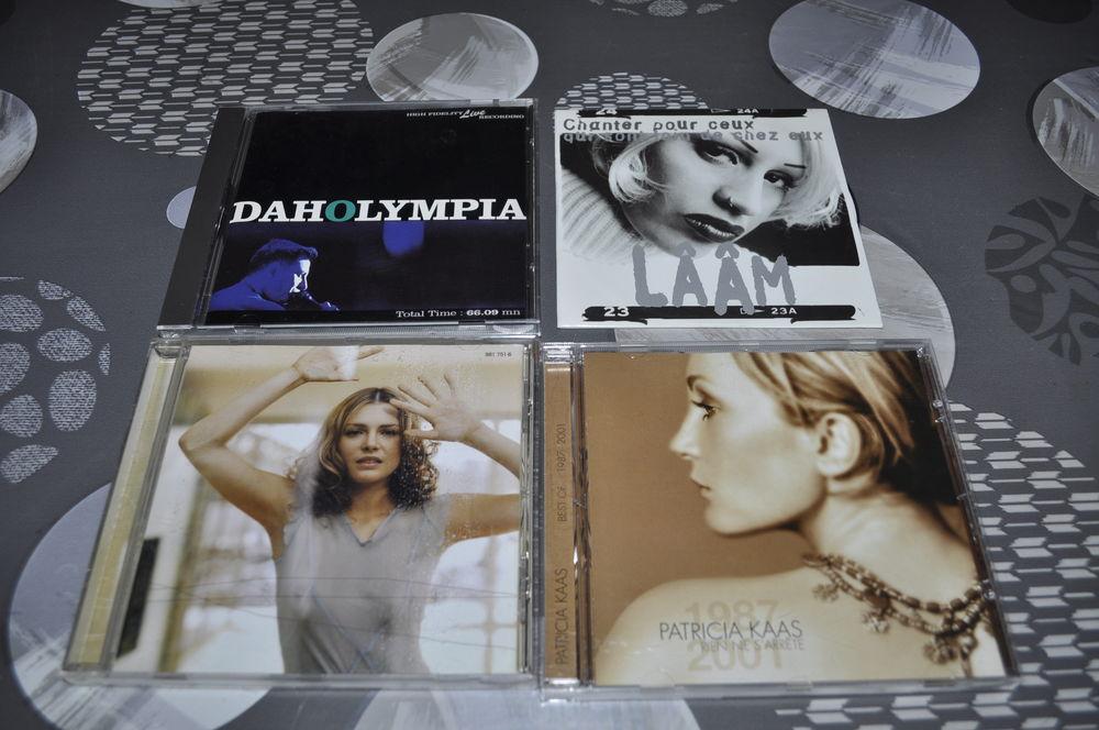"""Lot de CD avec entre autre """"Patricia Kaas"""" CD et vinyles"""