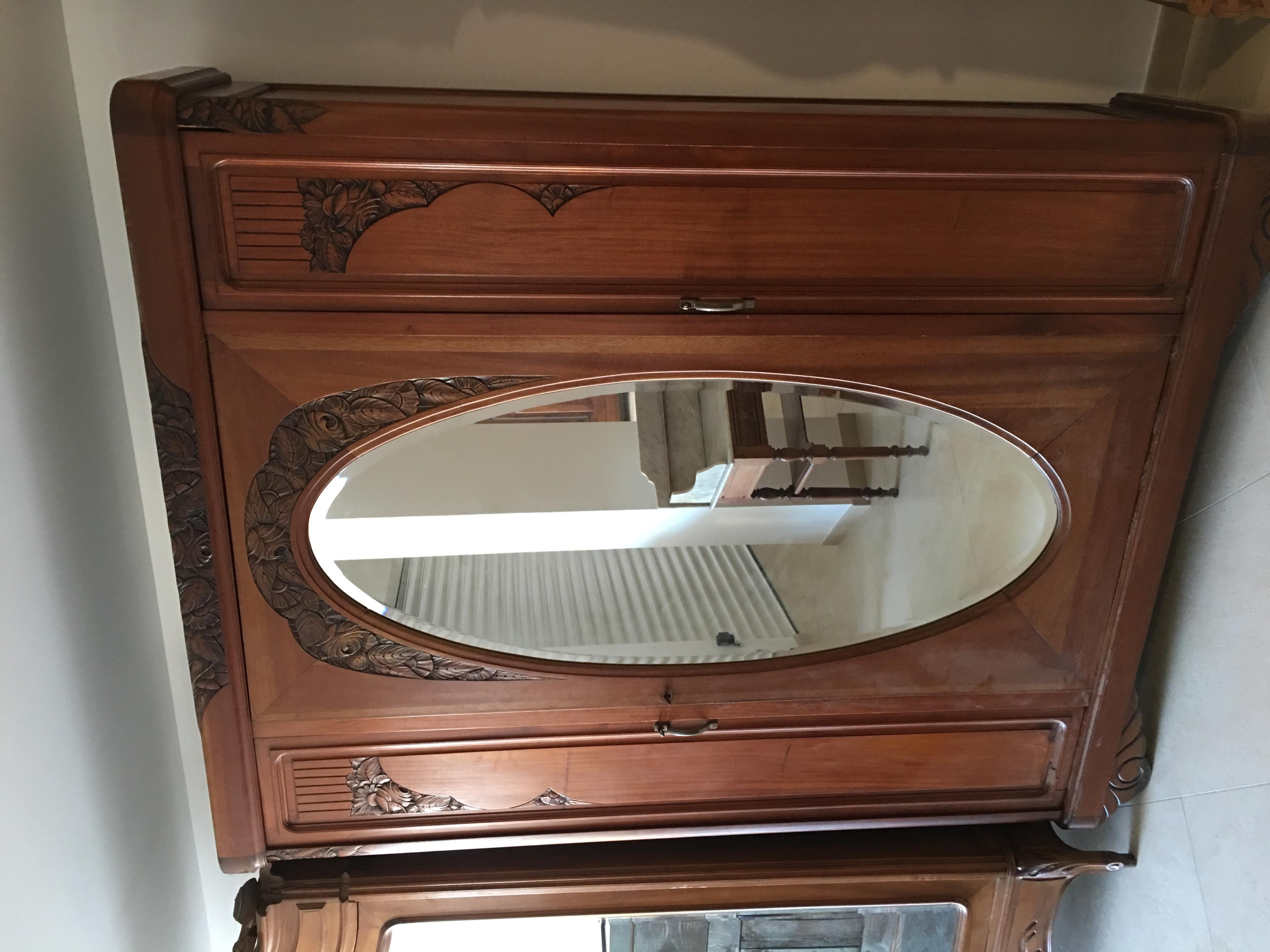 Lit 140 avec grande armoire 250 Sauzet (30)