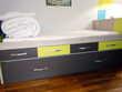 Lit avec lit-tiroir + bureau d'angle meubles germain Montigny-le-Bretonneux (78)