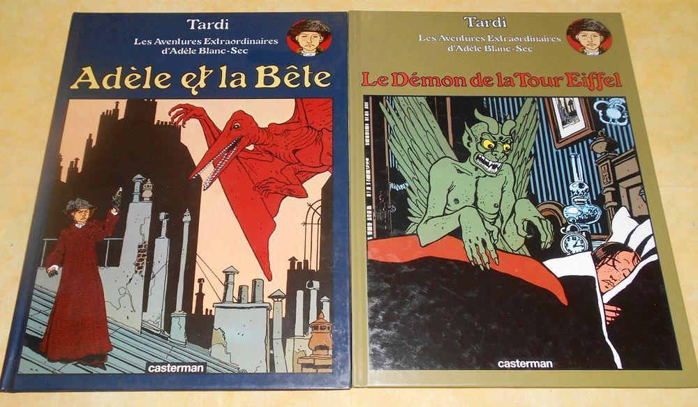 Aventures extraordinaires d'Adèle blanc sec Tardi l'unité) 10 Monflanquin (47)
