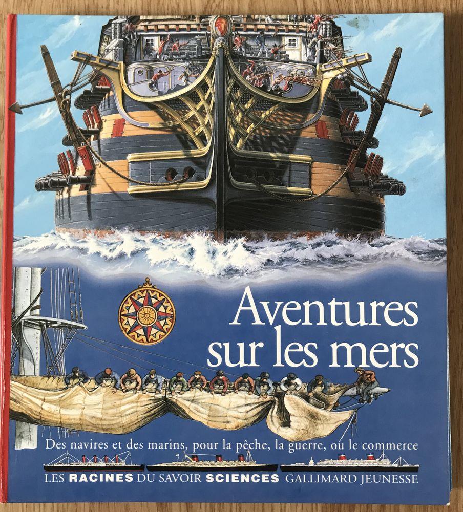 Aventures sur les Mers Editions Gallimard 6 Saâcy-sur-Marne (77)