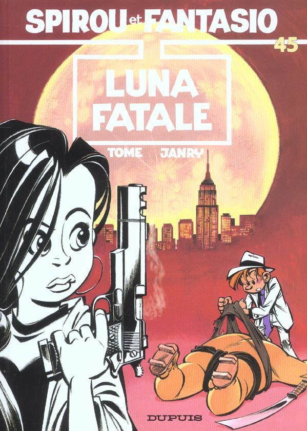 Les aventures de Spirou et Fantasio T.45 ; Luna Fatale 8 Bourg-du-Bost (24)