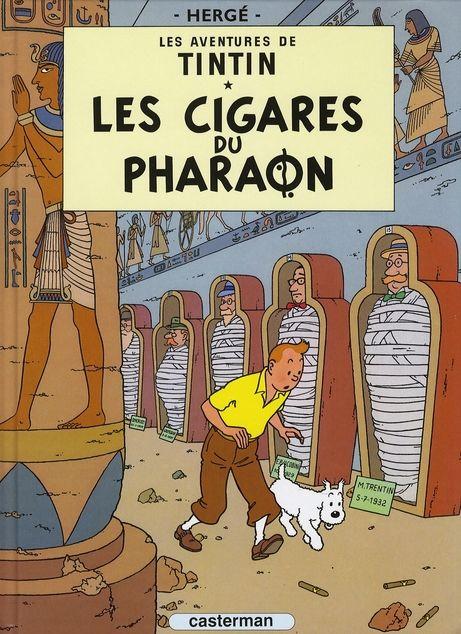 Les aventures de Tintin T.4 ; les cigares du pharaon 2 Le Blanc-Mesnil (93)
