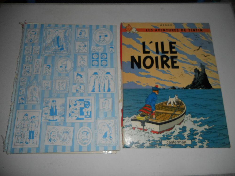 Les Aventures De Tintin - L'ile Noire  6 Étampes-sur-Marne (02)