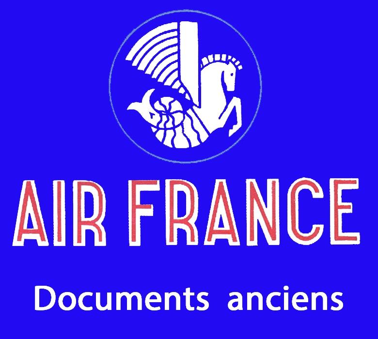 Aviation, AIR FRANCE : Documents anciens 1949-1956           0 Tours (37)