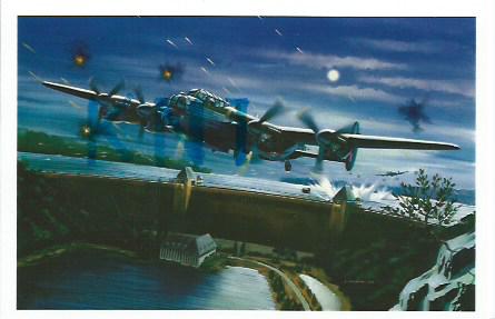 C P M , avion anglais Avro Lancaster , par Freudenthal 6 Tours (37)