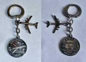 AVION AVIATION Porte-clés porte-clefs ORLY  10 Tours (37)