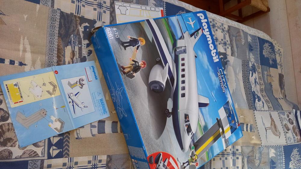 Avion Playmobil 60 Échouboulains (77)