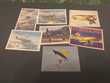 C P M , Avions ,lot de 7 carte neuves