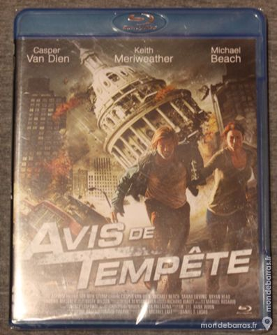 Blu-Ray Avis de tempete     5 euros 5 Cramont (80)