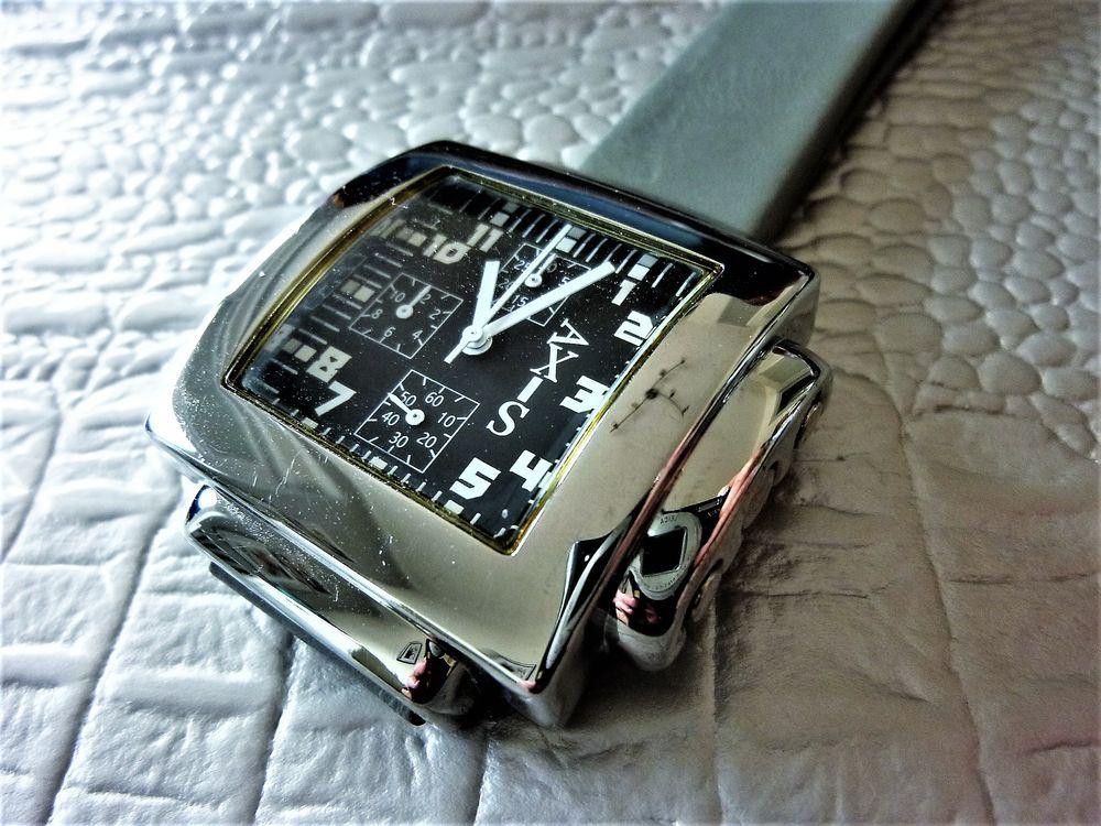 AXIS Cardinal montre homme chronographe carrée 2012 AXI1009 95 Metz (57)