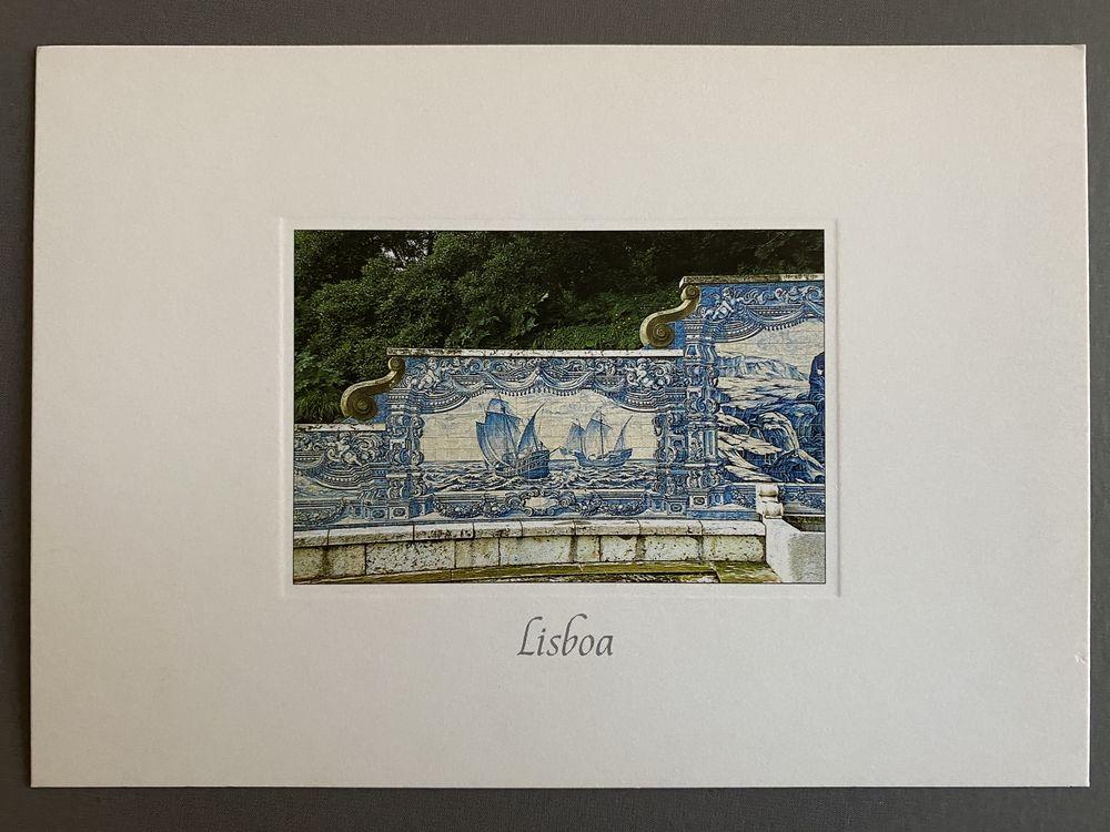 Azulejos Lisboa PORTUGAL carte Postale 3 Joué-lès-Tours (37)