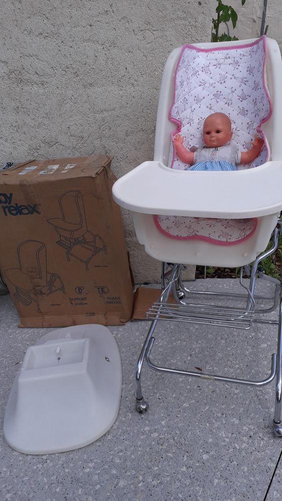 baby relax  / chaise haute 40 Valdrôme (26)