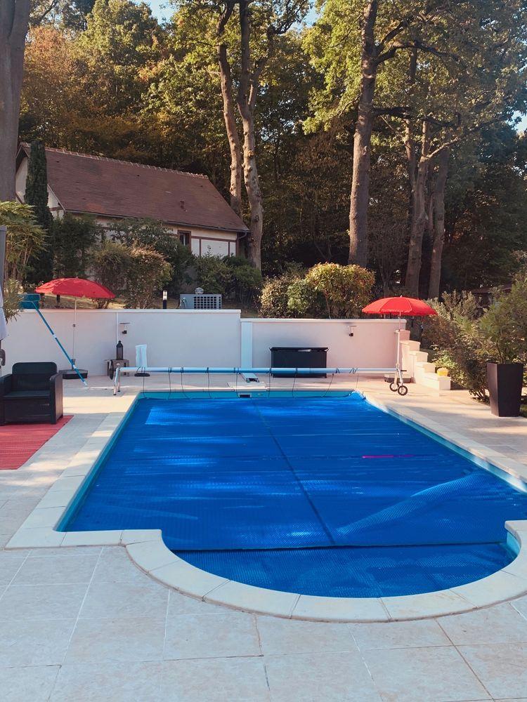 Bache a bulle pour la piscine 450 Eaubonne (95)