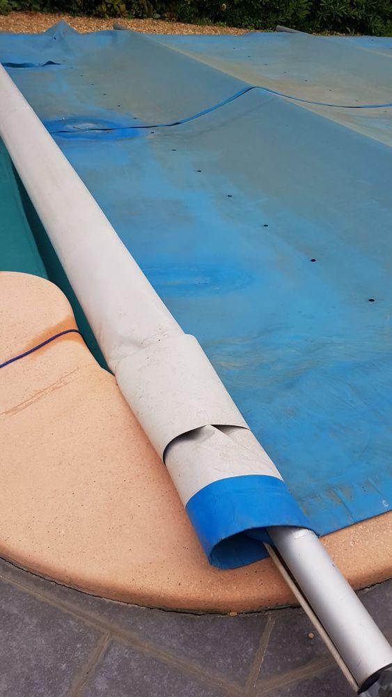 bâche sécurité piscine Jardin