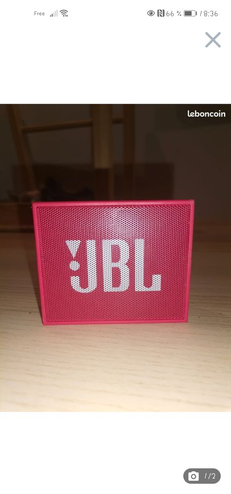 Baffe JBL rose Audio et hifi