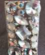 bague ajustable acier couleur argent et pierre strass Bijoux et montres