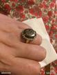 Bague 56 argent quartz dinosaure Bague imposante marguerite Bijoux et montres