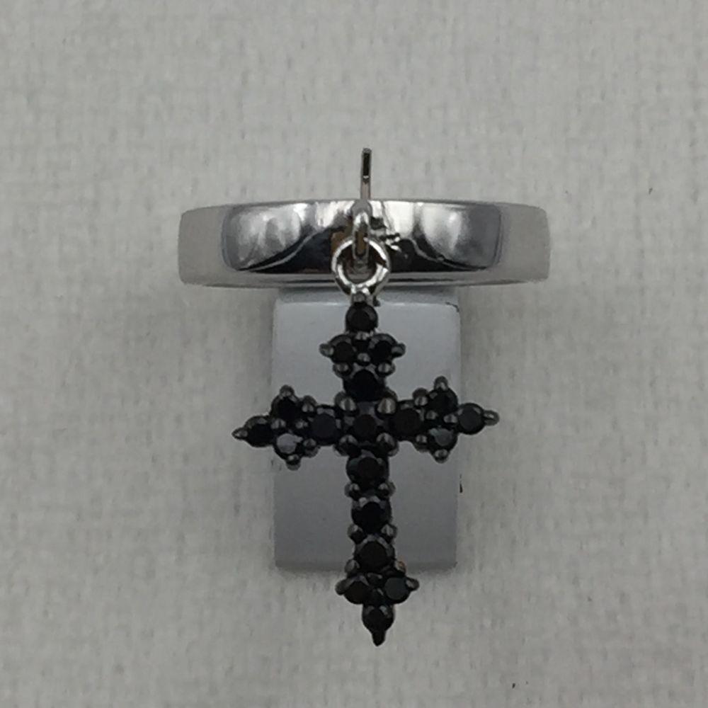 Bague avec croix empierrée 0 Viry-Châtillon (91)