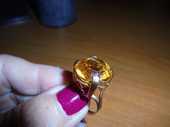 Bague or jaune avec Citrine 460 Mios (33)