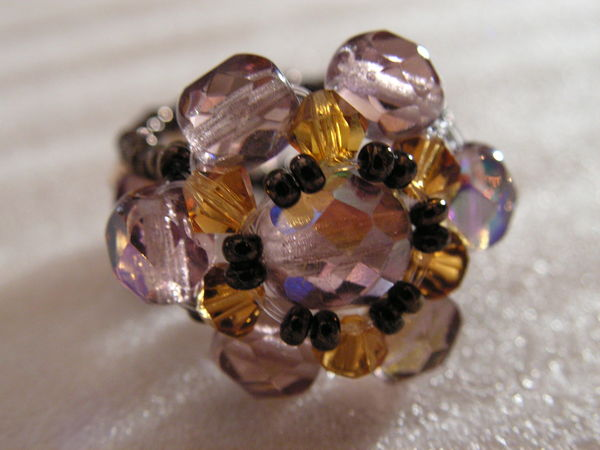 bague perles faite main 6 Auxonne (21)