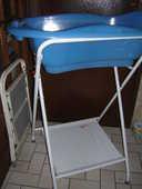 baignoire bébé avec support  de baignoire  pliant 25 Pontault-Combault (77)