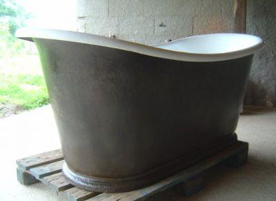 Achetez baignoire en fonte occasion annonce vente for Peinture pour baignoire fonte