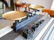 Balance plateau en cuivre et poids 5, 2, 1kg 500 200g