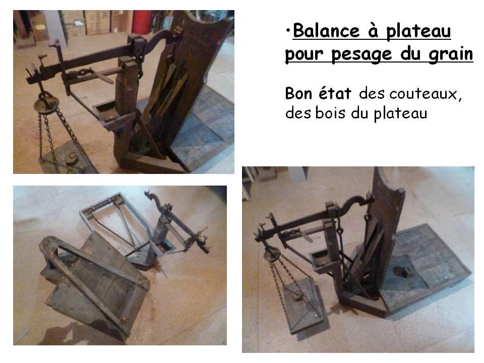 Balance à plateau pour pesage du grain 50 Châtellerault (86)