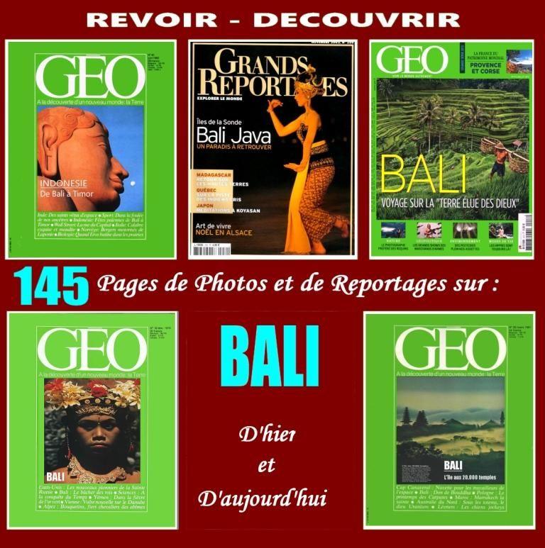 BALI - géo - INDONÉSIE / prixportcompris 17 Lille (59)