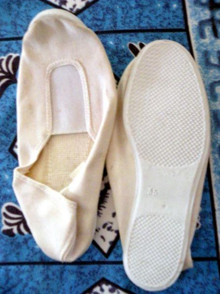 ballerine blanche semelle blanche taille 35   3 Viriat (01)