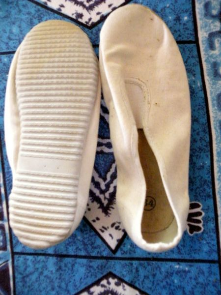 ballerine blanche semelle blanche taille 34  3 Viriat (01)