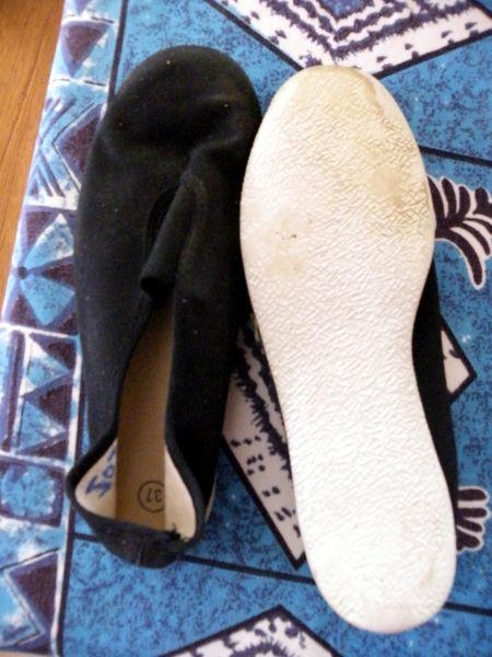 ballerine noire semelle blanche taille 37   3 Viriat (01)