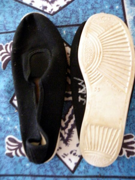 ballerine noire semelle blanche taille 33   3 Viriat (01)