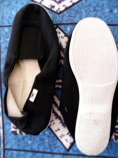 ballerine noire semelle blanche taille 34  3 Viriat (01)