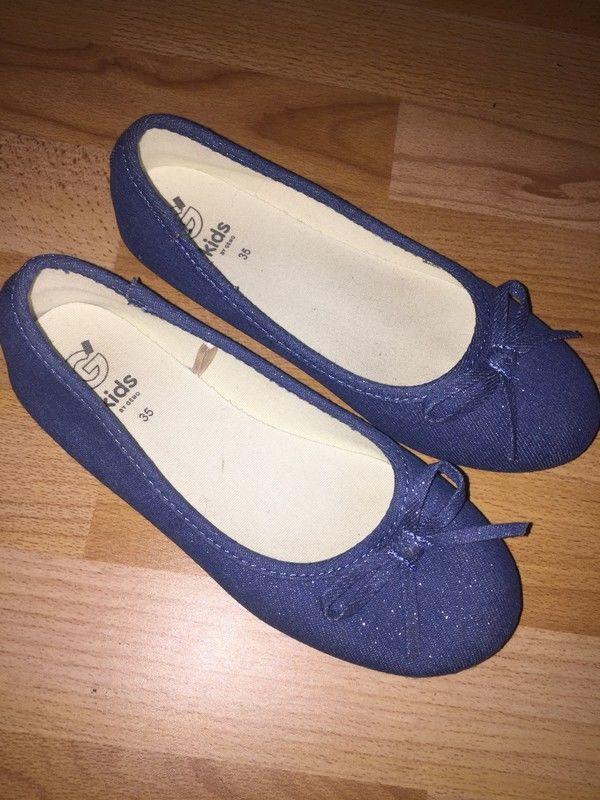 Ballerines bleu pailleté pointure 35 neuves à 10 euros  10 Lauraët (32)