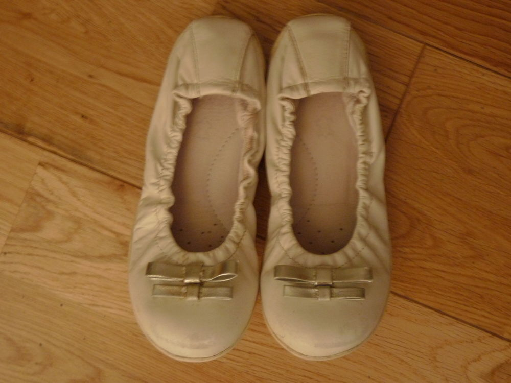 ballerines cuir blanches 32 Chaussures