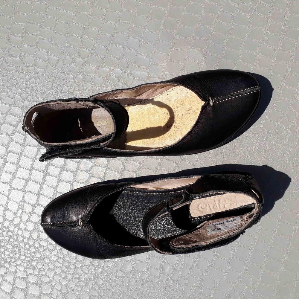 """Ballerines Cuir Noir """"Khrio"""" Femme Pointure 37 Chaussures"""