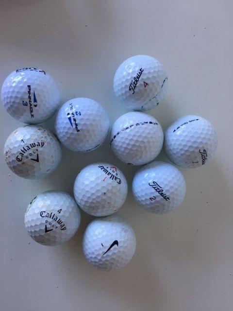 balles de golf  au choix  10 Varennes-Vauzelles (58)