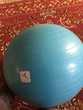 Ballon swissball Domyos bleu