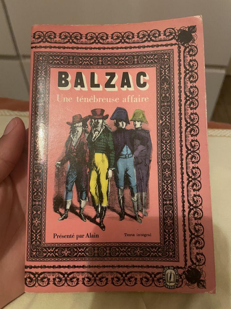 Balzac une ténébreuse à faire 3 Paris 13 (75)