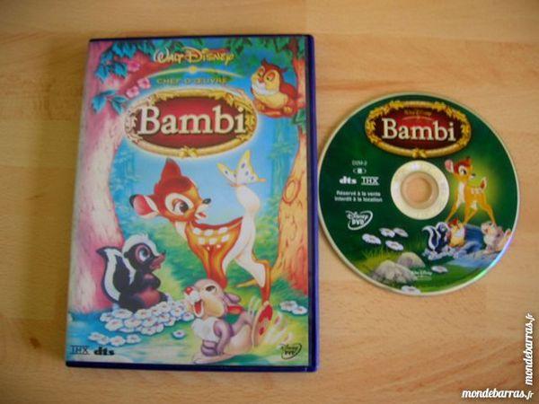 DVD BAMBI N° 5 - Walt Disney  L'ORIGINAL 9 Nantes (44)