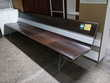Banc en aluminium et bois 2m50 Toulouse (31)