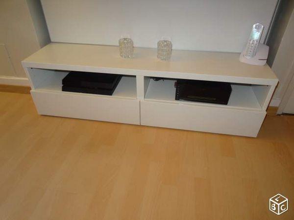 banc tv ikea besta largeur de 120x33x43 cm meubles - Ikea Meuble Besta Tv