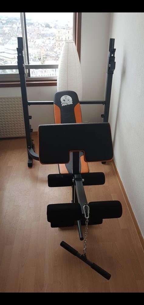 Banc de musculation et accessoires  280 Rennes (35)